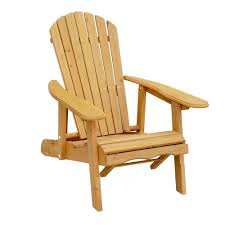 leisure season reclining patio adirondack chair with pull out ottoman