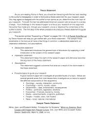 010 Examples Of Thesis Statements For Research Papers Paper
