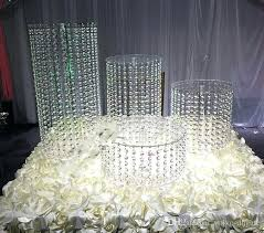 how to make chandelier centerpieces crystal