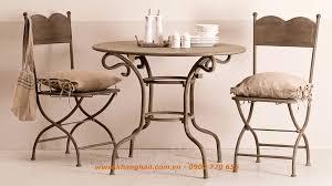 rot iron furniture. Wrought Iron Furniture Beautiful Art Style Nostalgia.KH14-BG004 Rot