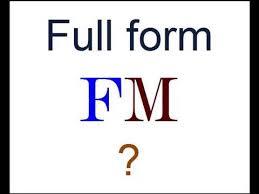 fm full form full form of fm in radio youtube