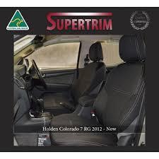 holden colorado rg april 12 now front seat covers snug fit premium neoprene automotive grade 100 waterproof