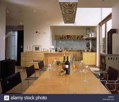 Wohnhaus Küche Wohnzimmer Küche Küchenblock Kulinarische