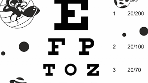 Snellen Chart Uk Printable Download Free Eye Charts A4 Letter Size 6 Meter 3