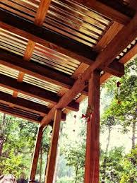 metal roof patio cover designs. over back porch unsure of yin roof but nice sound when raining metal patio cover designs