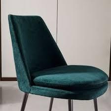 finley low back velvet dining chair