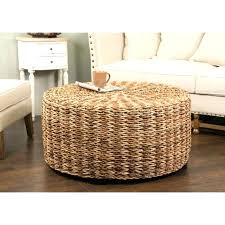 round wicker ottoman round wicker ottoman s outdoor wicker ottoman cubes with wicker ottoman coffee table