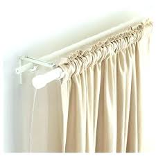 shower curtain brackets easy tension rods wire wall curtains behind making wood bracket ace hardware