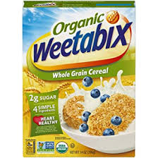 Free next day delivery on orders over £35. Amazon Com Weetabix Organic Whole Grain Cereal Biscuits Usda Certified Organic Non Gmo Project Verified Heart Healthy Kosher Vegan 14 Oz Box