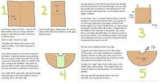 how to make a poncho easy no sew fleece poncho step 1