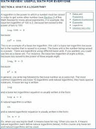 logarithm formula table excel log equations higher maths solving exponential and logarithmic worksheet with answers