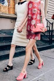 <b>2016 Fashion</b> Week Celebrity Women's Pink Suede Leather ...