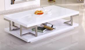 vitra coffee table in high gloss white