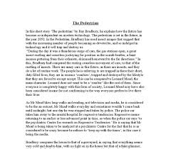 in this short story the pedestrian by ray bradbury he explains  document image preview