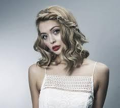 تسريحات شعر قصير للعروس 2017 مجلة هي