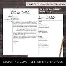 Google Resume Templates Free New Google Docs Resume Template Professional Resume CV Template Free
