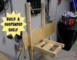 Fold Up Shelf 35 Diy Garage Storage Ideas To Help You Reinvent Your Garage On A