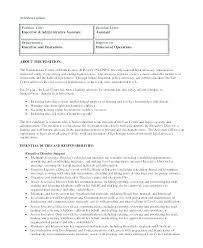 Executive Assistant Job Description Unique Executive Assistant Job Description Template Homefit