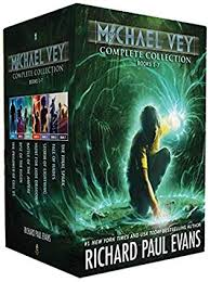 book cover of michael vey shocking collection books 1 7