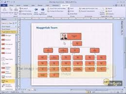 How To Draw An Organizational Chart In Word 2010 Microsoft Visio 2010 Tutoial For It Professionals 05