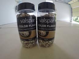 valspar flakes garage floor