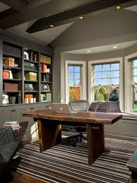 tracy model home office. Transitional Freestanding Desk Dark Wood Floor Home Office Photo In New York With Gray Walls Tracy Model