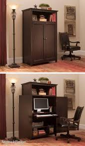 organize your multipurpose space with a computer armoire like this one the new branson armoire armoire office desk