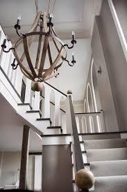 wine barrel lighting. Boston Atrium Lighting Staircase Modern With Wine Barrel Chandelier Mediterranean Chandeliers