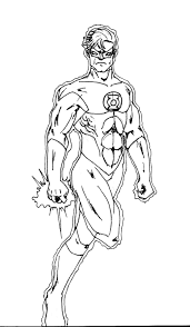 Kids Superhero Coloring Pages