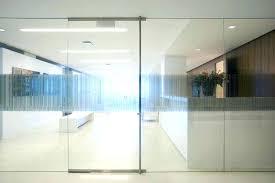 glass office front door. Glass Front Door For Business Exterior Office Doors Building Commercial