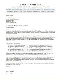Graphic Design Cover Letter Graphic Designer Cover Letter Sample