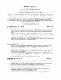 Real Estate Broker Resume Template Awesome Real Estate Agent Resume ...