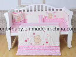 pink baby cot bed per nursery