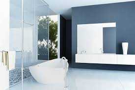 bathroom paint colorsbathroom paint color ideas dark blue  Decor Crave