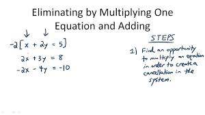 linear systems with multiplication algebra ck 12 foundation
