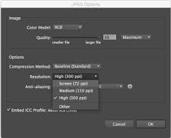 how to reduce jpeg file size how to export for web using illustrator y designs inc