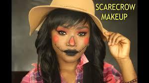 scarecrow makeup tutorial halloween 2017 kemiixo