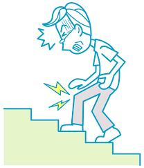 「膝痛  階段」の画像検索結果
