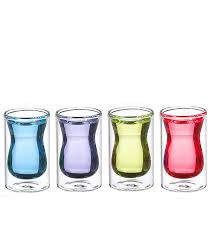 grosche istanbul double wall shot glasses