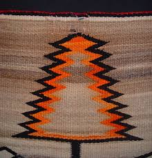 01 navajo textiles antique navajo rug weaving trees pictorial motif professionally cleaned