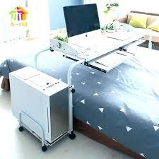 Over bed desk Wheel Overbed Shepherdartworkcom Overbed Computer Table Desks Over Bed Computer Desk Rolling Bedside