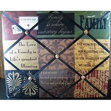 Family Memo Board Awesome The French Memo Board A Creative Display For Photos Mementos