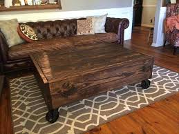 diy coffee table with storage popular rustic storage coffee table secret rustic storage diy coffee table