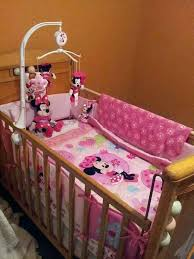 minnie mouse baby bed set mouse baby crib set images about mouse nursery on closet organization and