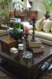 INTERIOR DEVOR - Decorating with Tea Caddies~ a caddy on the side table in  the background as well as an antique inlaid box on the coffee table in the  ...