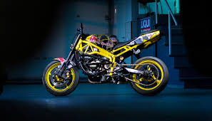 aras stunt bike design