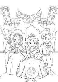 60 Disegni Di Sofia La Principessa Da Colorare Album Principessa