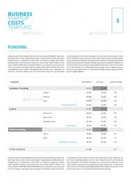 Business Startup Costs Digital Template By Keboto Graphicriver