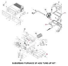 suburban furnace model sf 42q tune up kit price 120 81 price 70 22