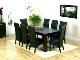round wood dining table for 8 kitchen table 8 chairs round dining room table seats 8